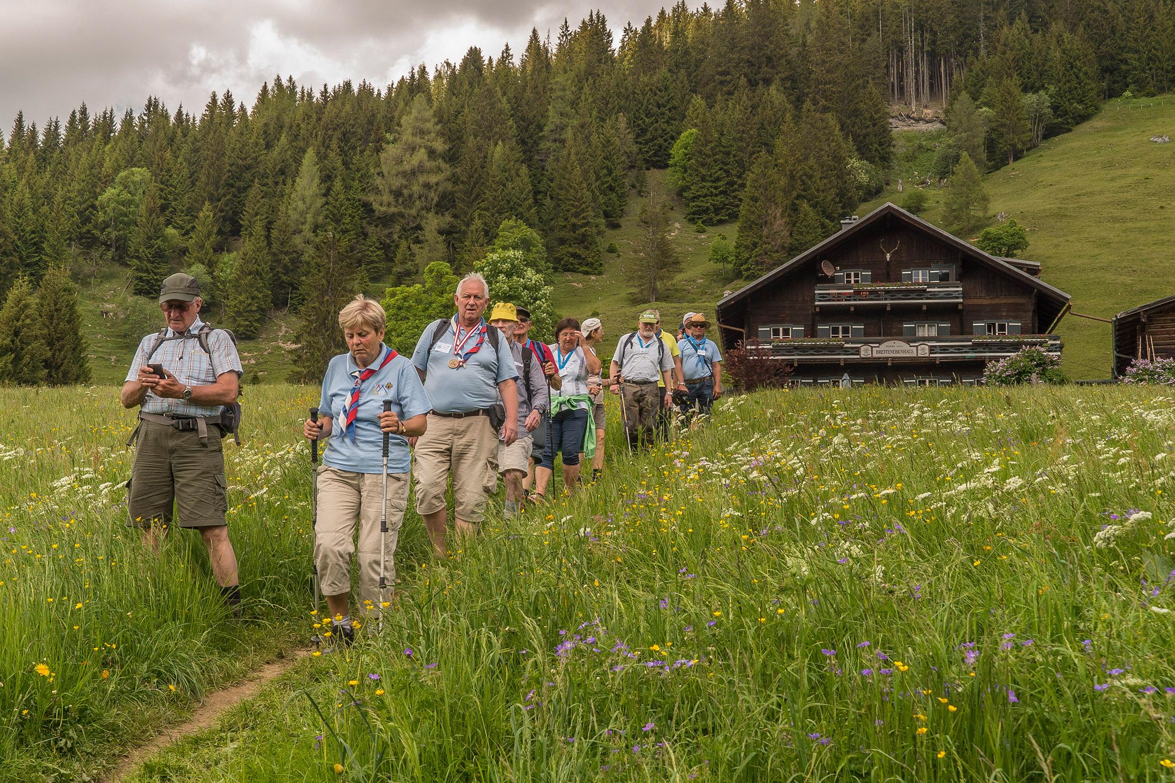Wandern in Großarl. Foto: Familie Schicht
