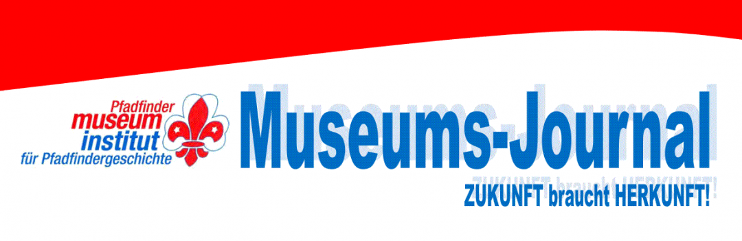 Museums-Journal des Pfadfindermuseums in Wien