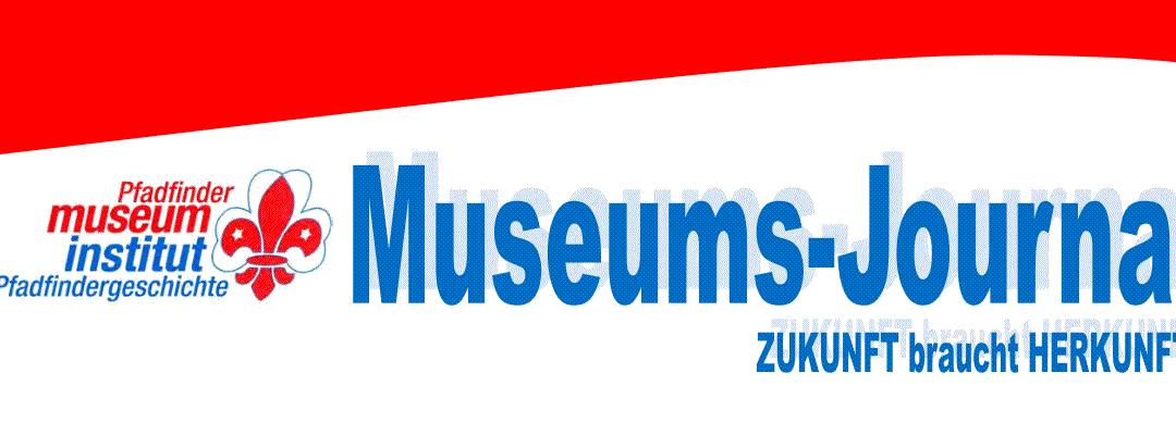 Museums-Journal des Pfadfindermuseums in Wien